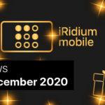 News from iRidium mobile. December 2020