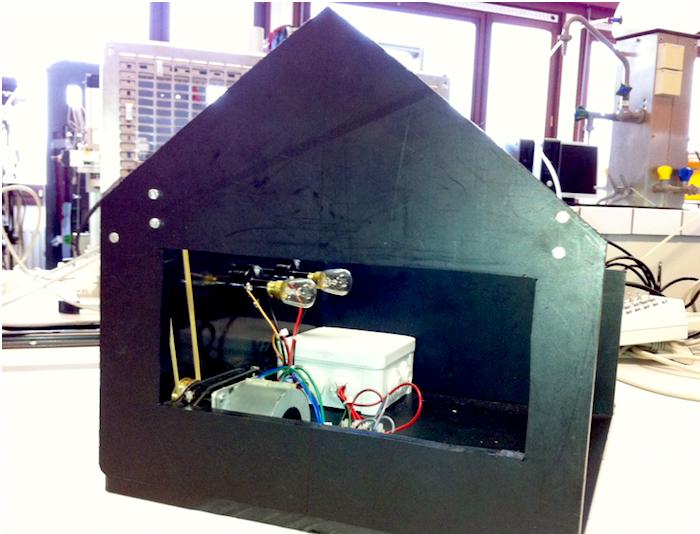 библиотека строения блоков от Beckhoff и обучающая модель дома со всеми необходимыми выключателями, лампами и двигателями для штор