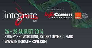 iRidium mobile at Integrate 2014 in Australia