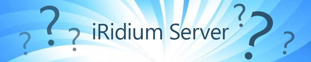 Как выбрать iRidium Server?